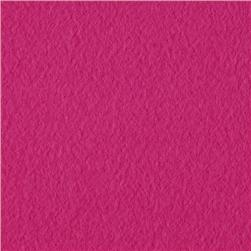 Wintry Fleece Dark Fuchsia