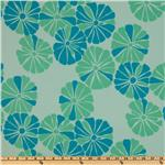 Della Flannel Flora Ocean