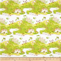 Heather Ross Briar Rose Frog Pond Lilac/Green