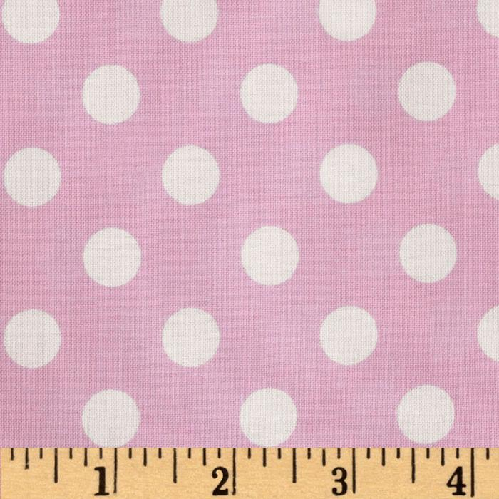 Brights &amp; Pastels Basics Polka Dot Light Pink