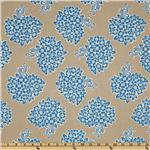 FN-403 Millie's Closet Floral Bouquet Blue