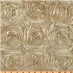 UN-048 Splenda Satin Ribbon Rosette Mocha