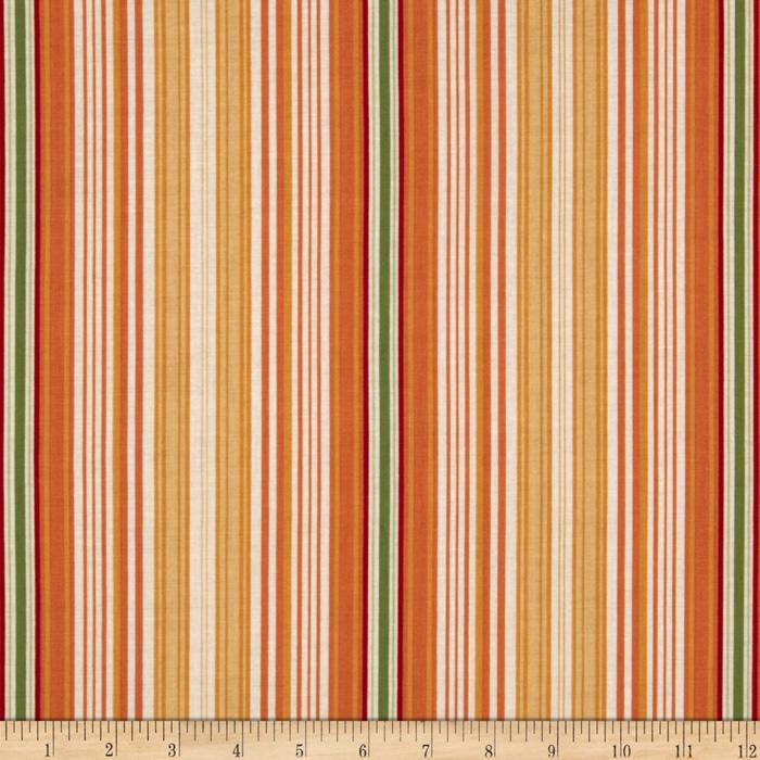 Riley Blake Flutter Stripe Orange