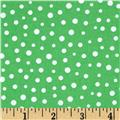 Susybee Christmas Snow Dots White/Green
