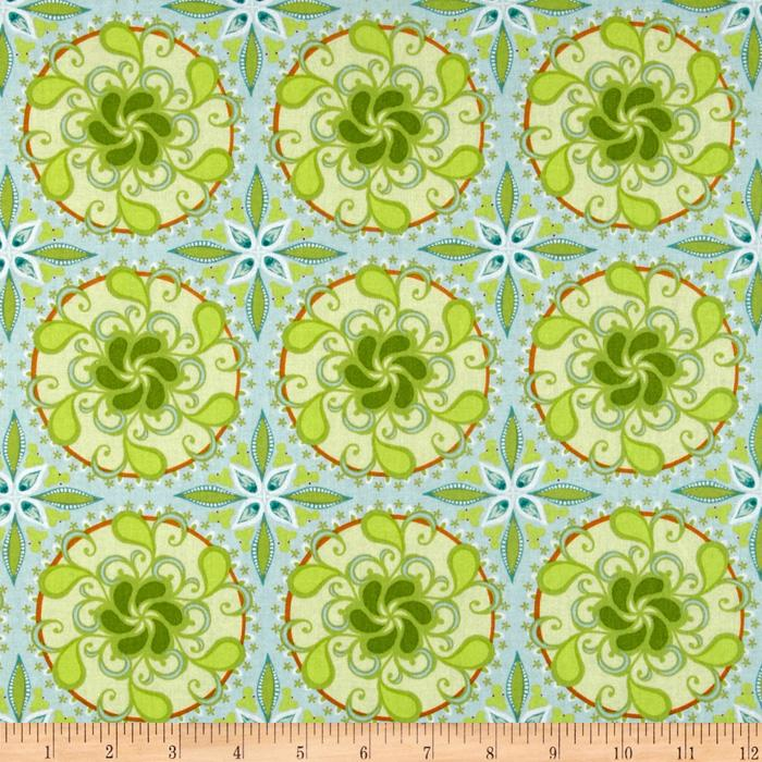 Blend Bella Big Medallions Turquoise