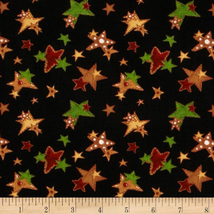 Ginger Trees Cookie Stars Black