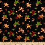 0273243 Ginger Trees Cookie Stars Black
