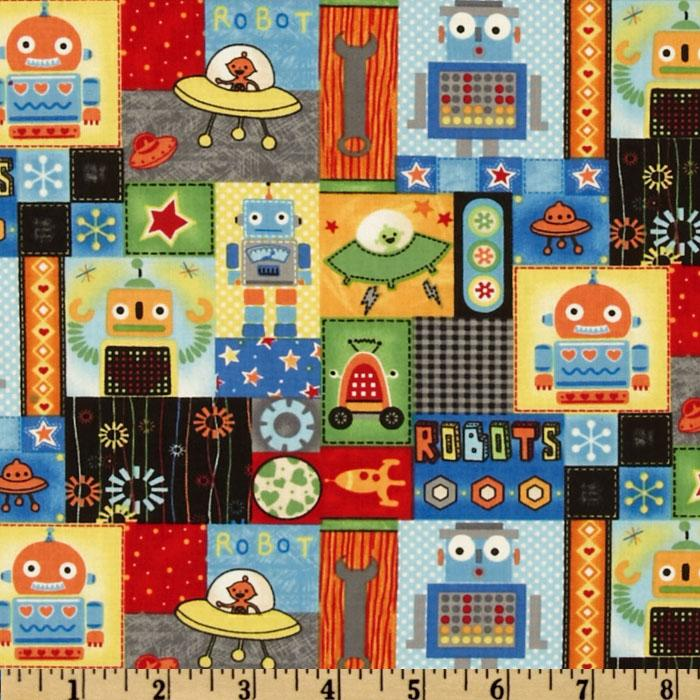 Run Run Robot Patchwork Multi