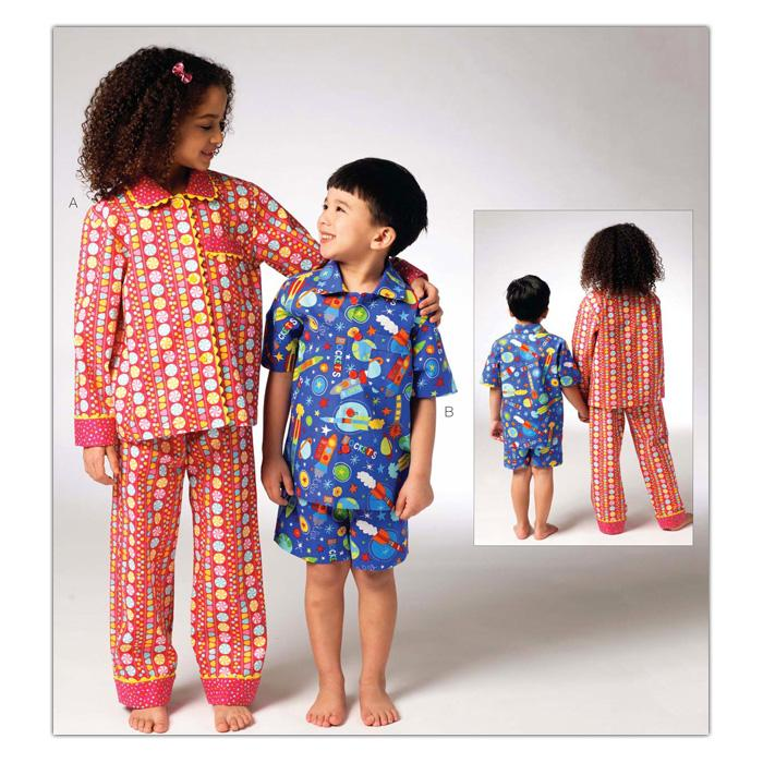 Kwik Sew Children's Pajamas Pattern