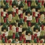 235156 You Had Me at Merlot Packed Wine Bottles Green
