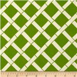 0287106 Premier Prints Indoor/Outdoor Lattice Greenage