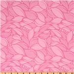 FA-856 Michael Miller Lush Tossed Leaves Pink