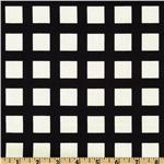 Multi-Dots Square Plaid Black