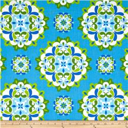 Kanvas Lilified Medley Turquoise/Green