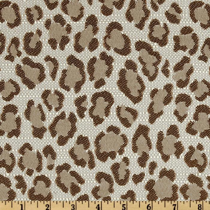 Claridge Cheetah Jacquard Nutella Brown