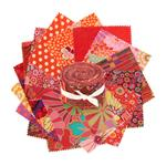FQ-1696 Kaffe Fassett 2 1/2'' Design Roll Red