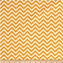 Minky Cuddle Mini Chevron Pumpkin/Snow