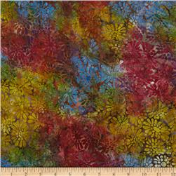 Batavian Batiks Flower Power Brown/Multi