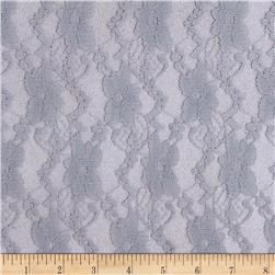Stretch Fashion Lace Light Grey
