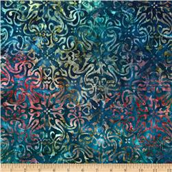 Artisan Batik Noel 2 Tinsel Holiday Blue