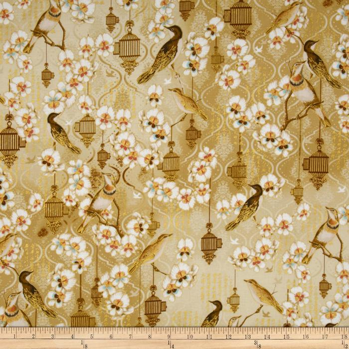 Birds & Blossoms Birds Cream