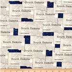 202659 Mount Rushmore South Dakota Grey/Blue
