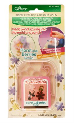 Floret & Berries Needle Felting Applique Mold