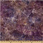 Artisan Batik: Lafayette Leaves Plum