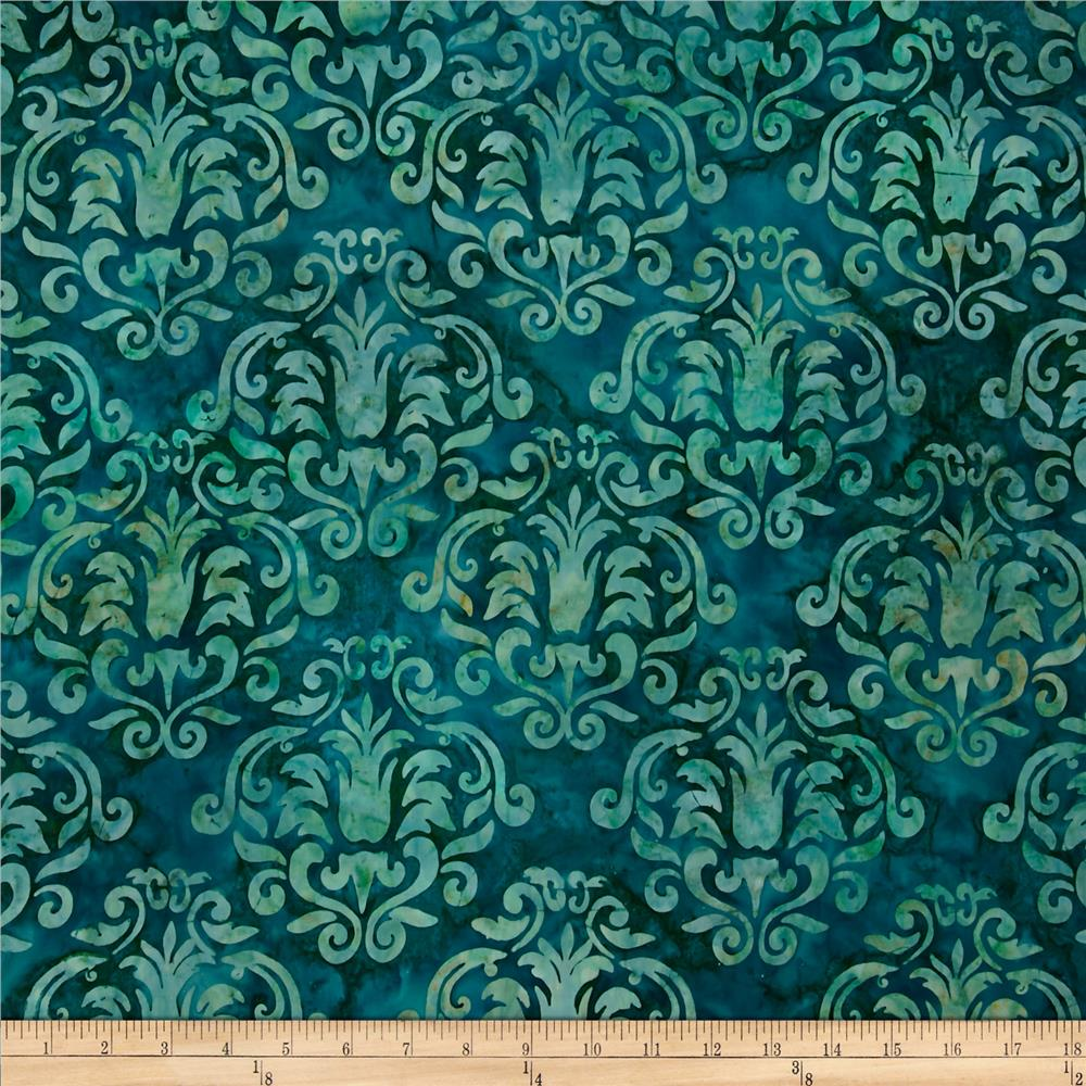 Artisan Batiks Gazebo Abstract Trellis Meadow