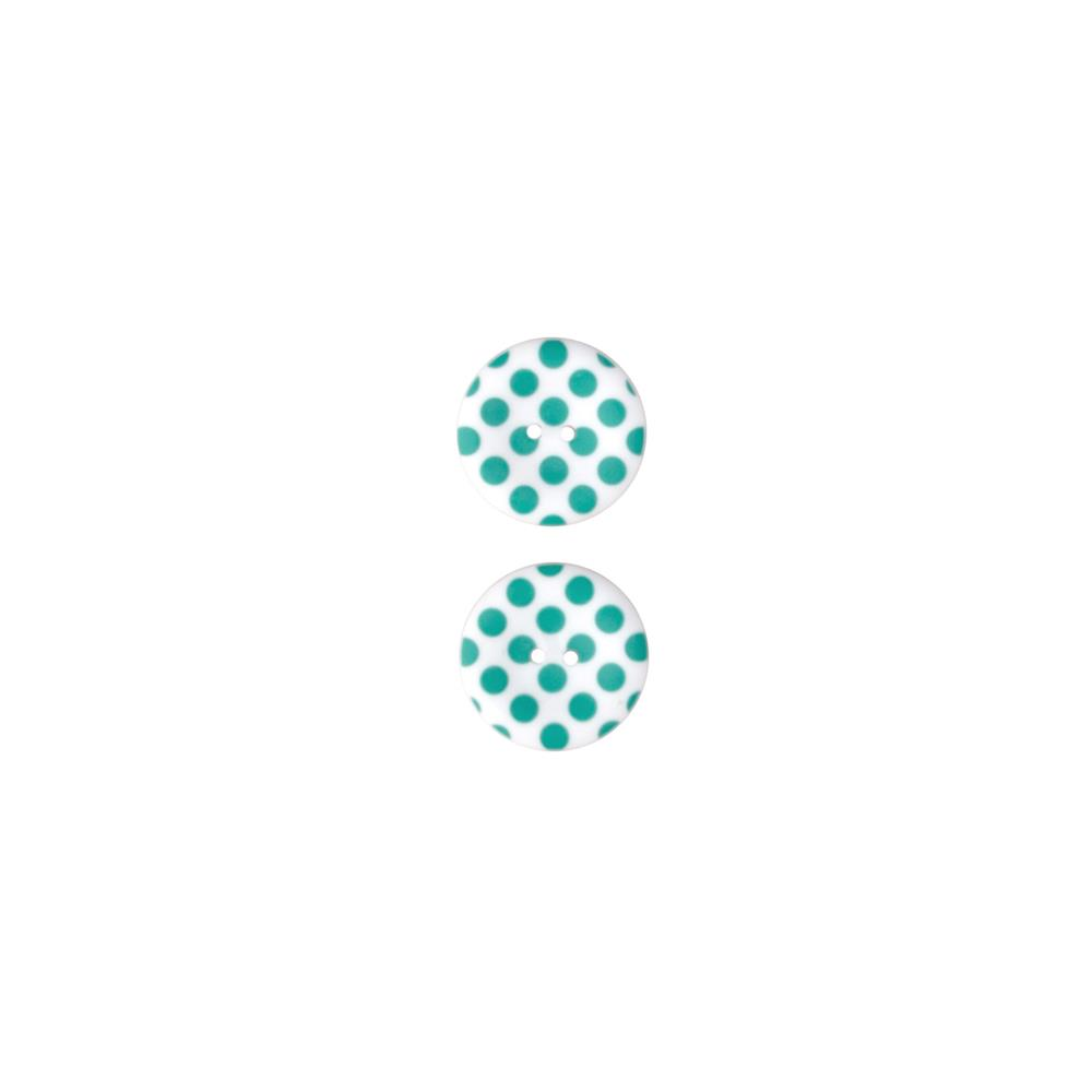 Riley Blake Sew Together 1 1/2 Matte Button Dots Teal