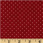 FG-357 Moda Essential Dots (# 8654-52) Christmas Red