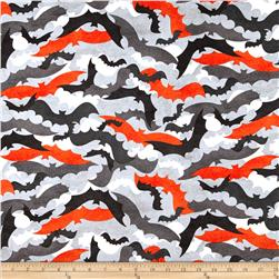 Kanvas Spooktacular Going Batty Grey-Orange