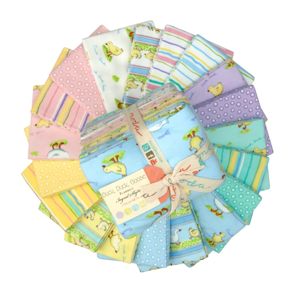 Duck Duck Goose Flannel Fat Quarter Assortment
