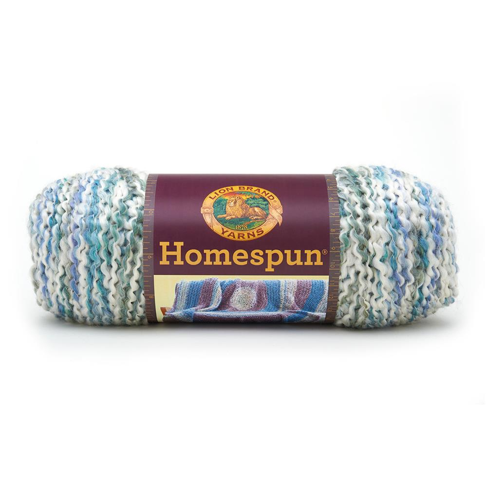 Lion Brand Homespun Yarn (406) Ocean