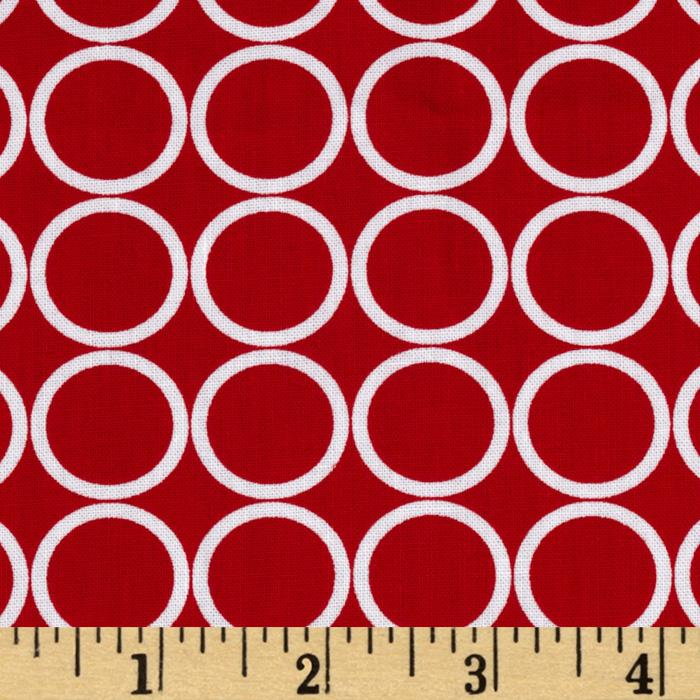 Metro Living Circles Red