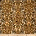 0274368 Renaissance Garden Paisley Tan