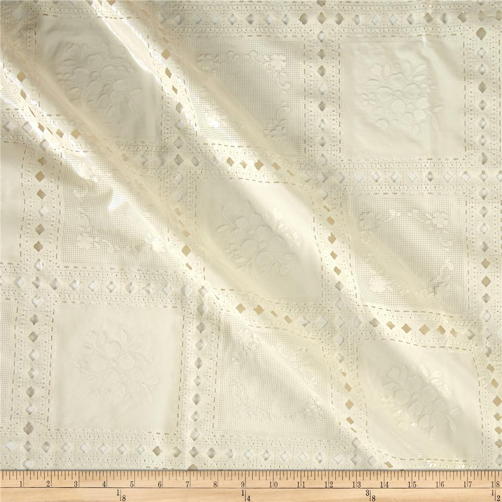 Vinyl Lace Country Lace Antique White