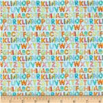 Cuddly Baby Alphabet Blue
