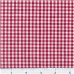 AM-046 Woven &#39;1/8&#39;&#39; Cotton Gingham Red