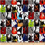 Rock Legends Pop Art Guitars Multi