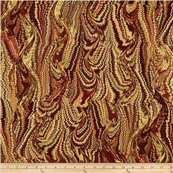 Autumn Fauna Bookbinder Rust