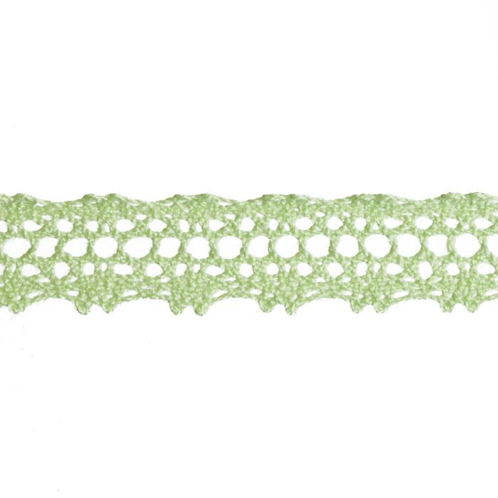 5/8&quot; Crochet Lace Trim Light Celery