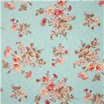 0280511 Moda Lario Daisy Bouquet Lake Mist Blue