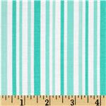 0273652 Moda Ticklish Laughing Stripes Tipsy Turquoise