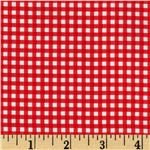 Riley Blake The Simple Life Simple Gingham Red