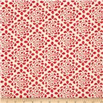 0280312 Moda Avalon Seaside Cobblestone Candy Apple Red