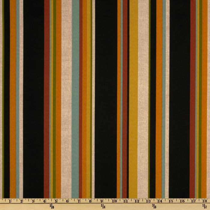 Maco Indoor/Outdoor Freespirit Stripe Ebony