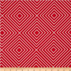Michael Miller Textured Basics Diamonds Red
