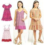 KP-3674 Kwik Sew Girl's Dresses Pattern