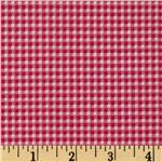 FO-825 Small Check Hot Pink